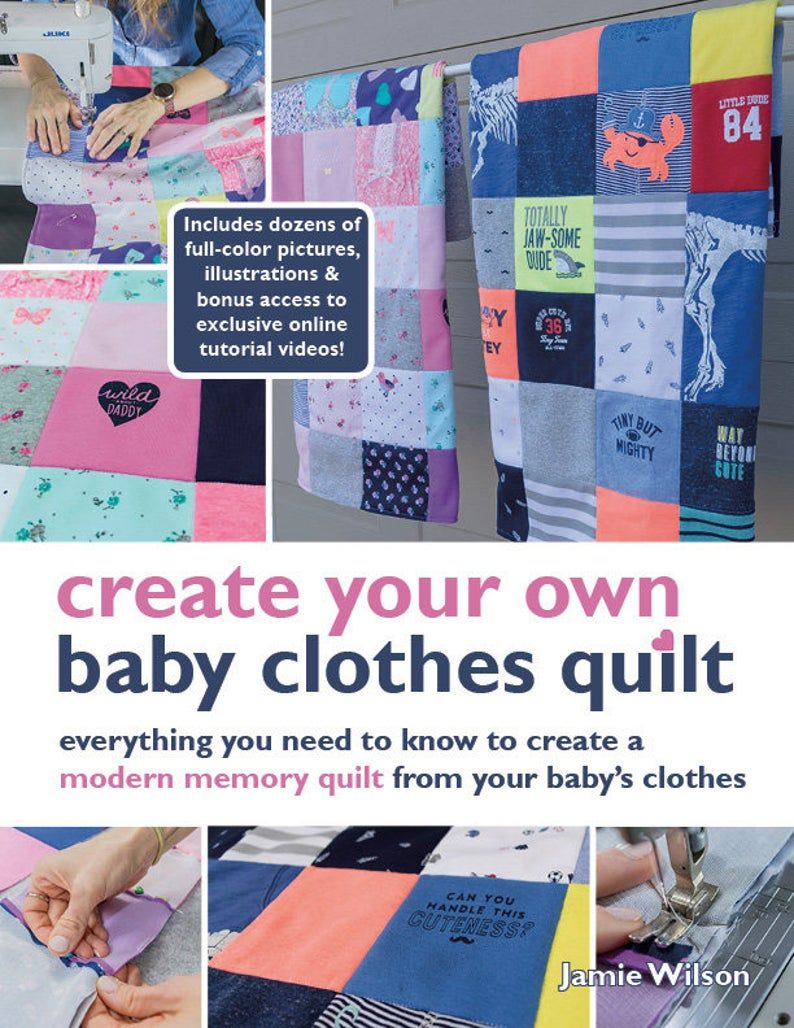 Baby clothes quilt pattern pdf ebook onesie quilt pattern