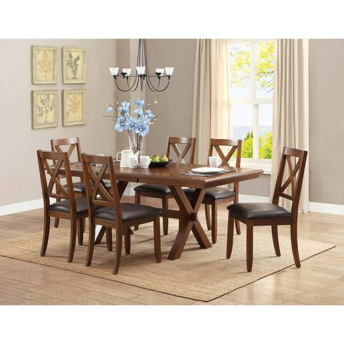 better homes gardens maddox crossing dining table places to rh pinterest com