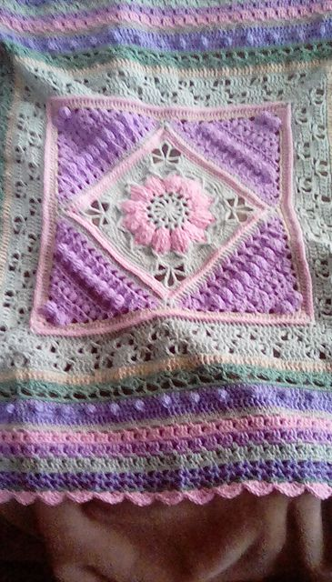 Ravelry: Project Gallery for Charlotte\'s Dream Blanket pattern by ...
