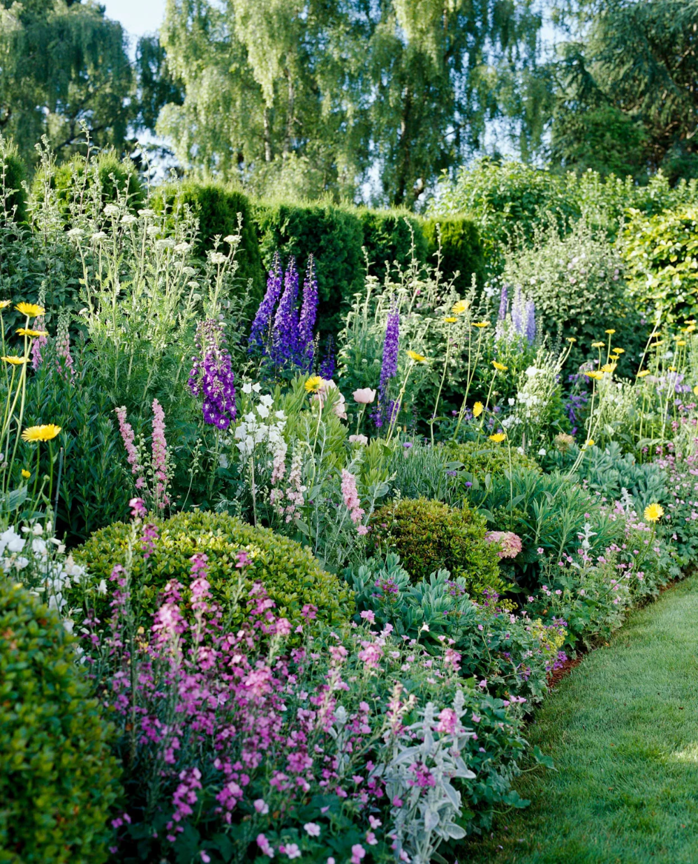 Create a Classic Look in Your Landscape with This Summer Cottage Garden Plan