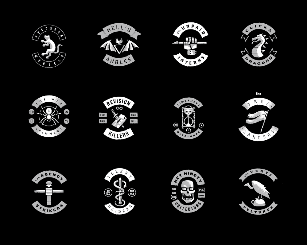 Design Gangs print // Matt Stevens