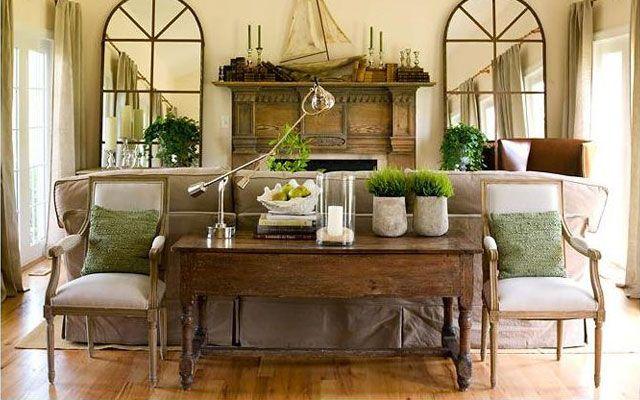 Ideas para decorar el salón: Un aparador detrás del sofá | LIVING ...