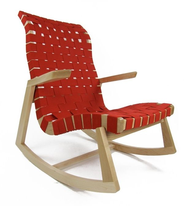 Modern Twist on Rocking Chairs