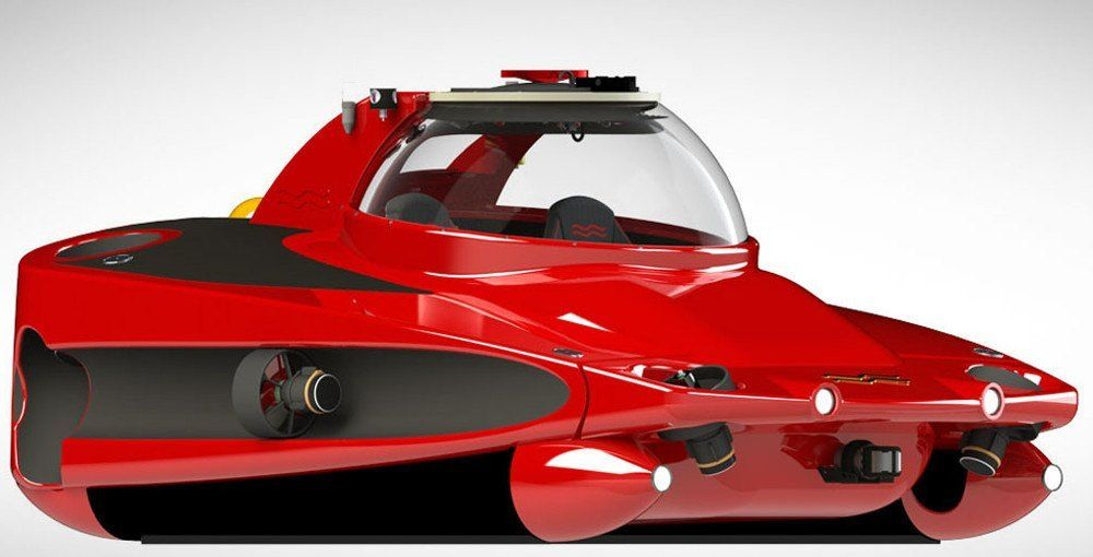 The ultimate yacht accessory: A personal submarine