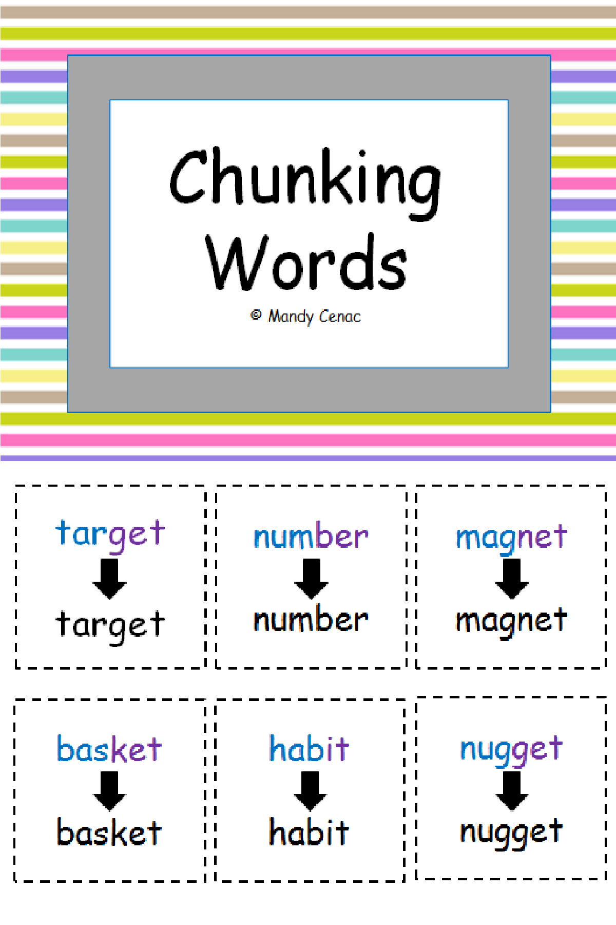 Chunking Words