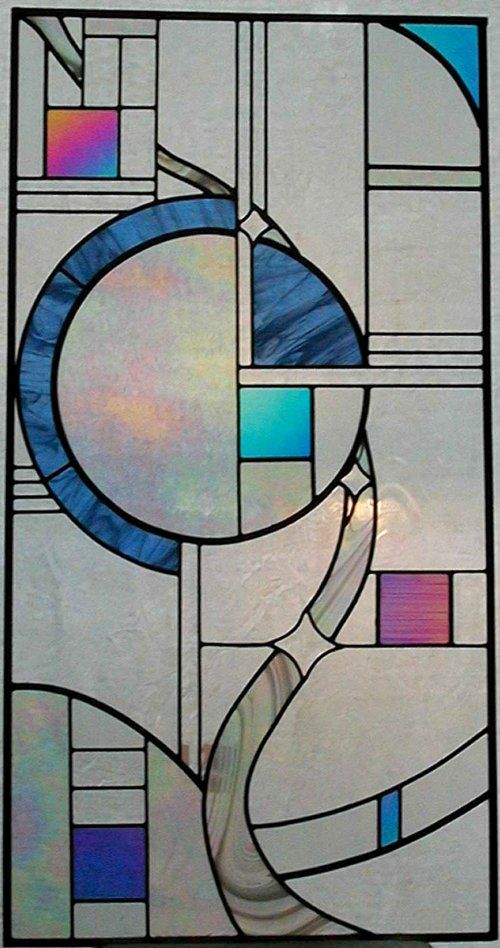 imagine this stained glass design as an art quilt