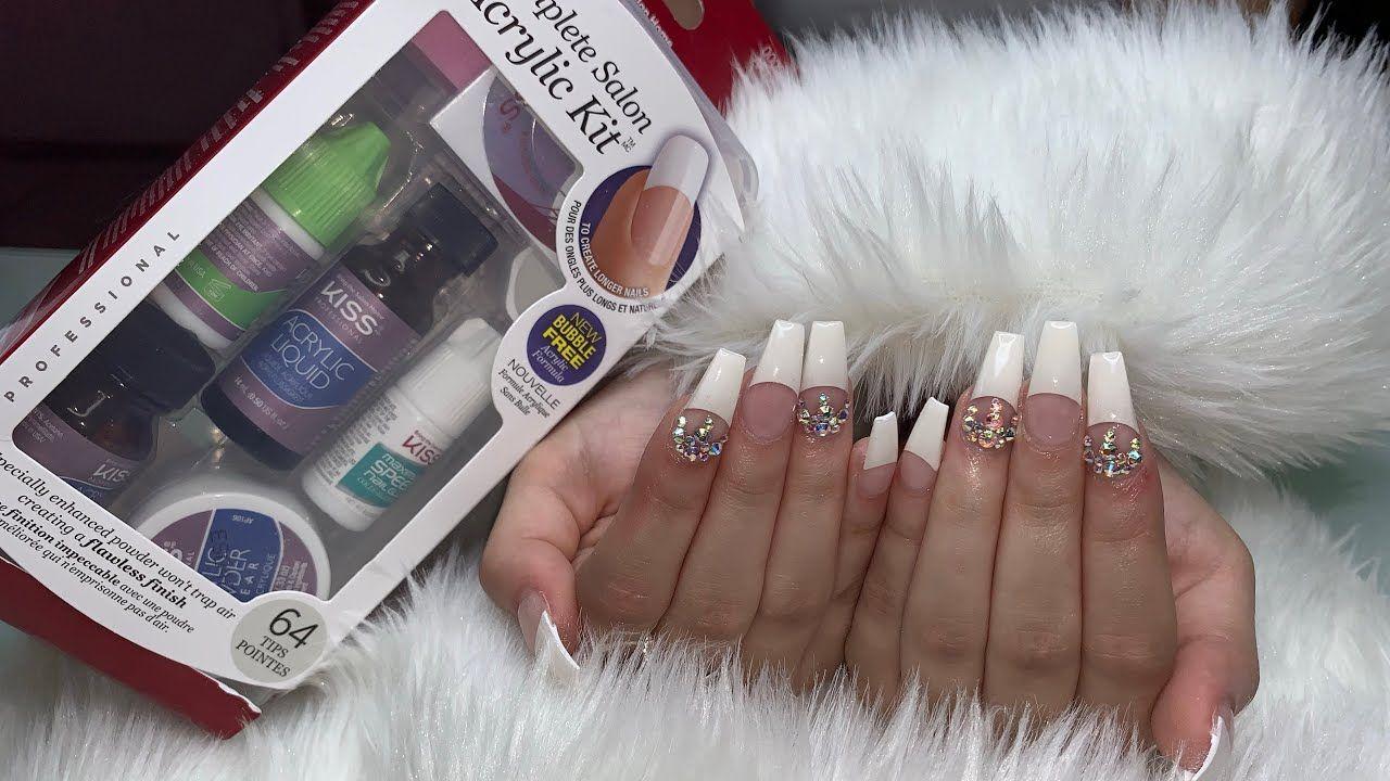 Acrylic Nails At Home Kit in 2020 Acrylic nails at home