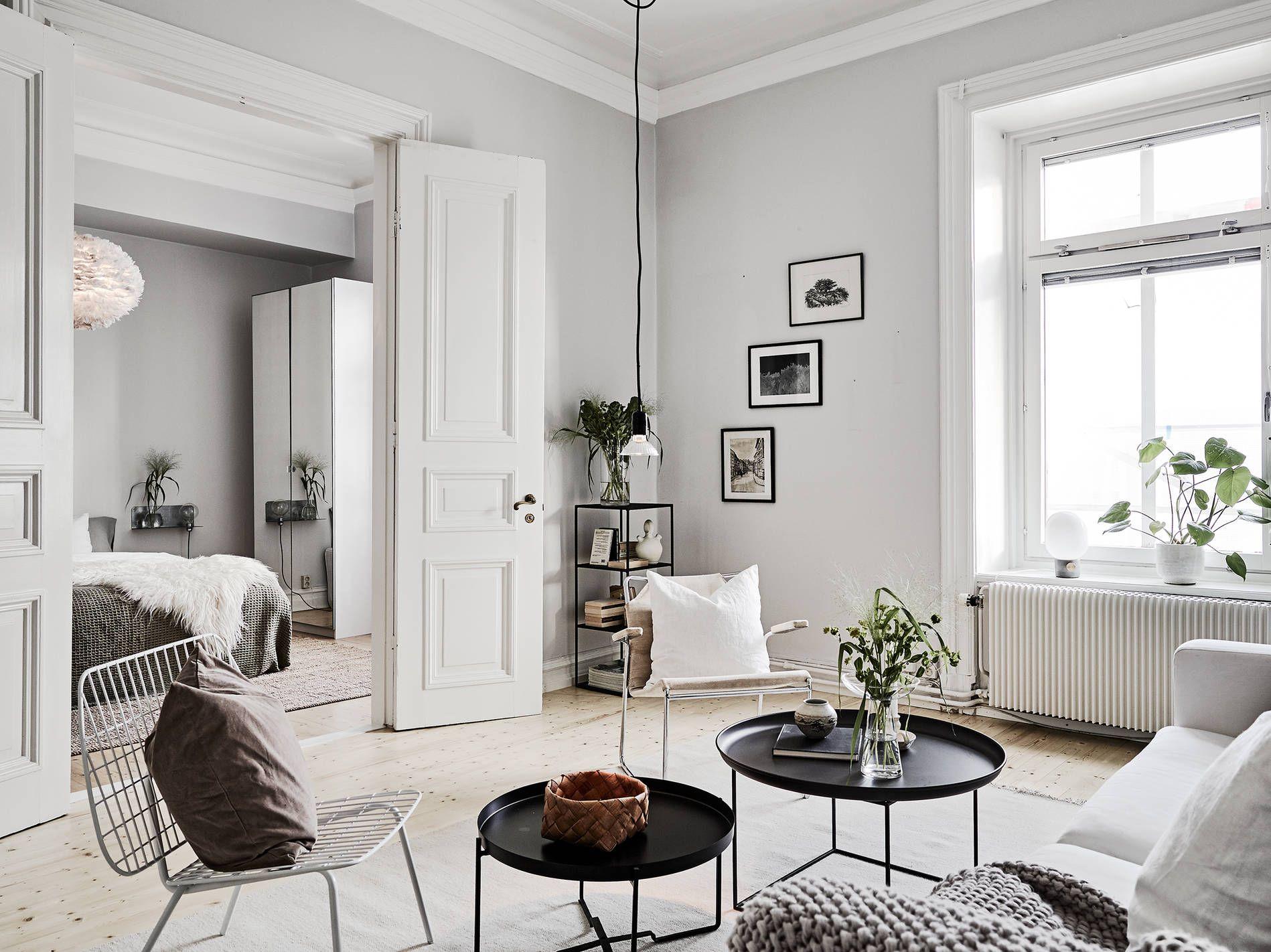 30 Stunning Scandinavian Design Interiors | Open plan, Apartments ...