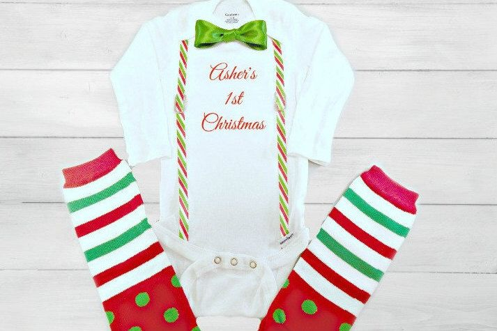 5f91be52ce25 Newborn Christmas Outfit