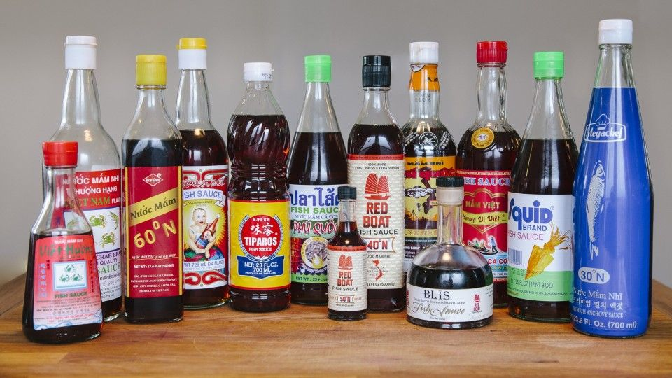 Fish Sauce Taste Test, 13 brands compared. | Our Daily Brine