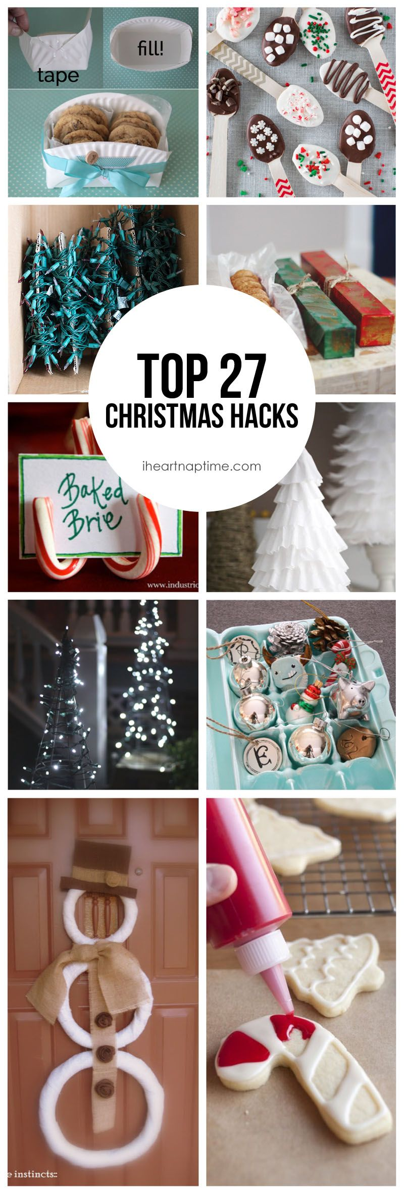 Christmas Life Hacks.27 Christmas Hacks Pins I Love Christmas Hacks