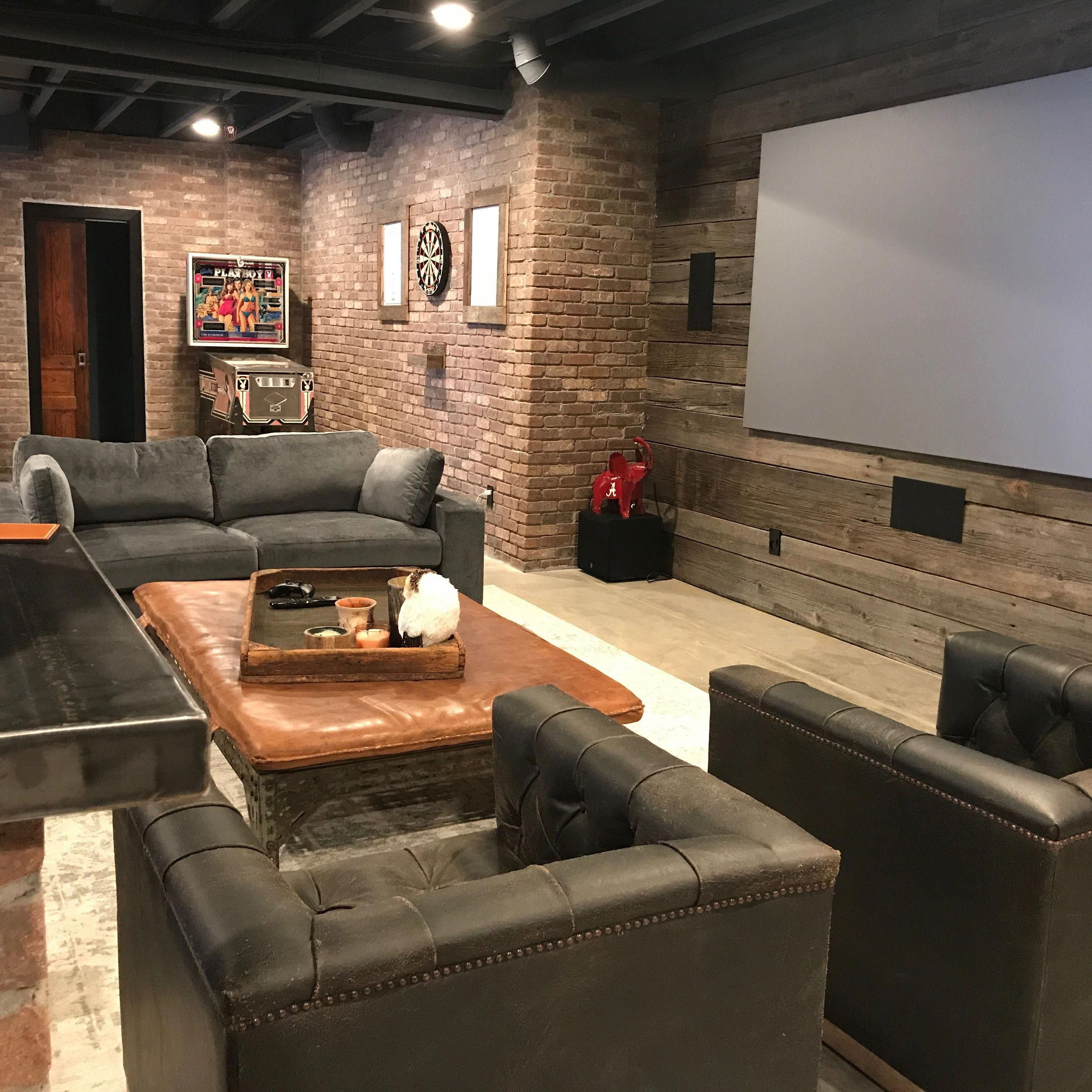 Convert Your Garage Into A Man Cave