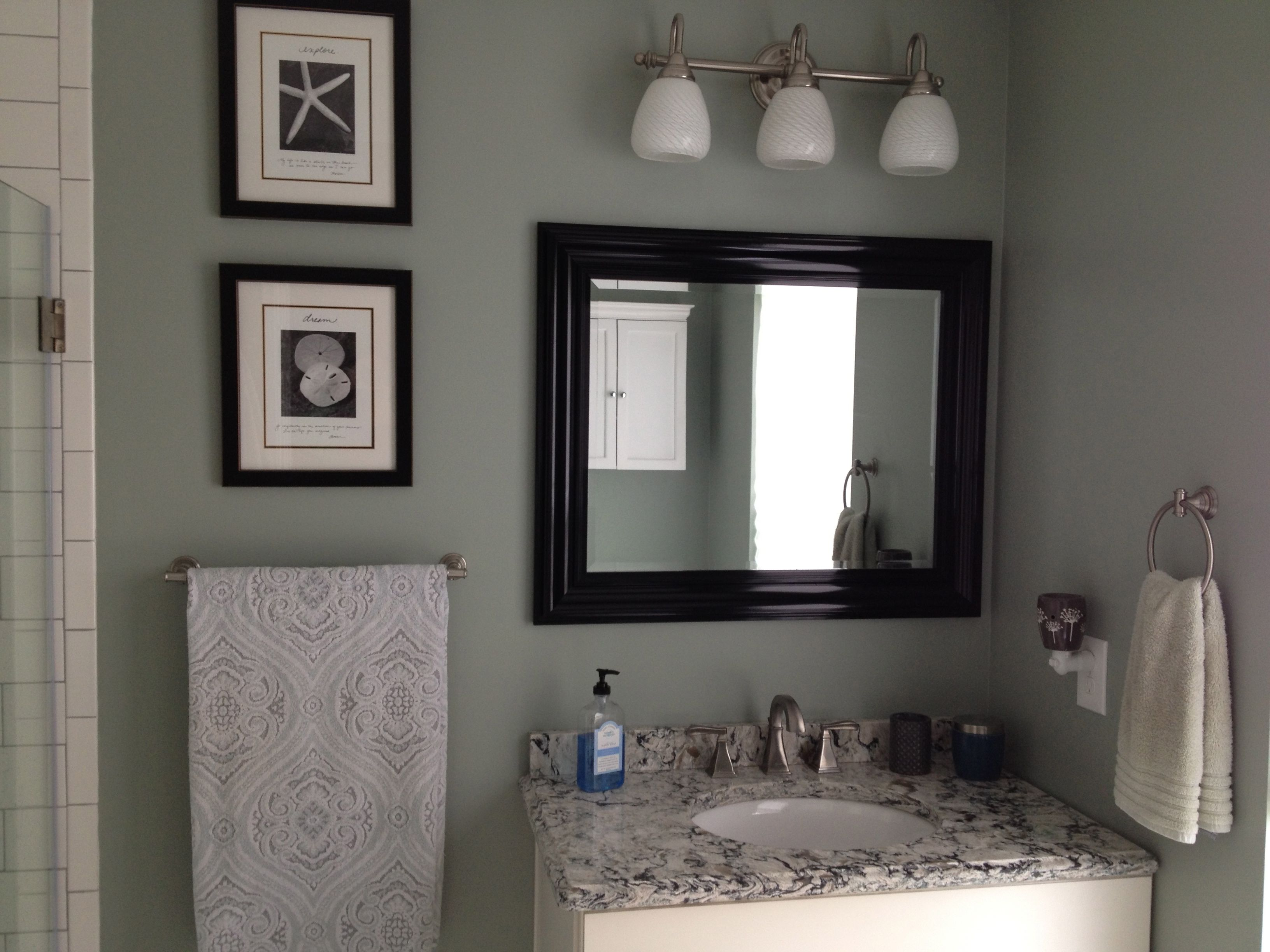 Small Master Bathroom Makeover Cambria Quartz Countertop In Praa