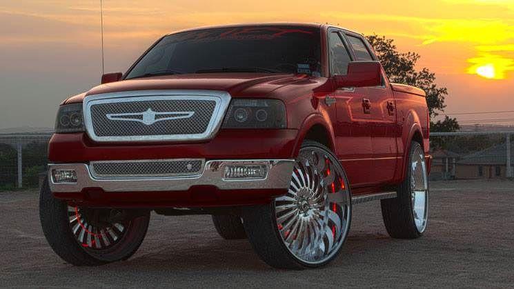 Ford F 150 King Ranch On 32 Inch Forgiato Autonomo Wheels