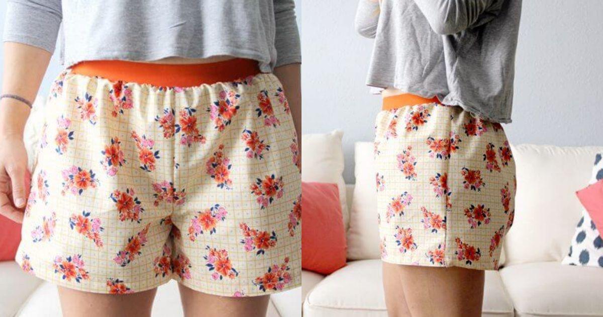 Einfache Damen-Shorts | Pinterest