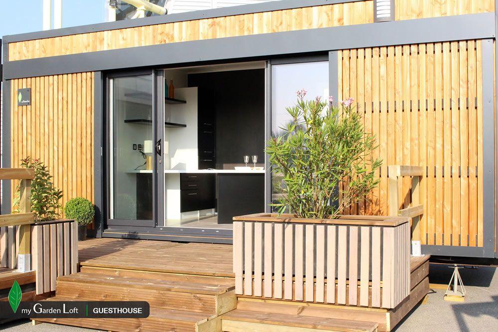 Studio de jardin guesthouse My Garden Loft Déco maison Pinterest - Exemple De Facade De Maison