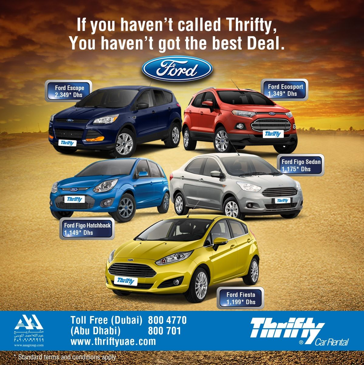 Introducing The Fantastic4 Now At Thriftyuae Ford Figo Ecosport Fiesta Escape Call Now To Know Ford Ecosport Hatchback Ford Escape