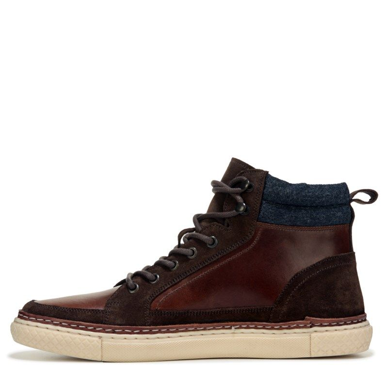 3df0f0476 Crevo Men's Martel Memory Foam Lace Up Boots (Chestnut Leather) - 12.0 M