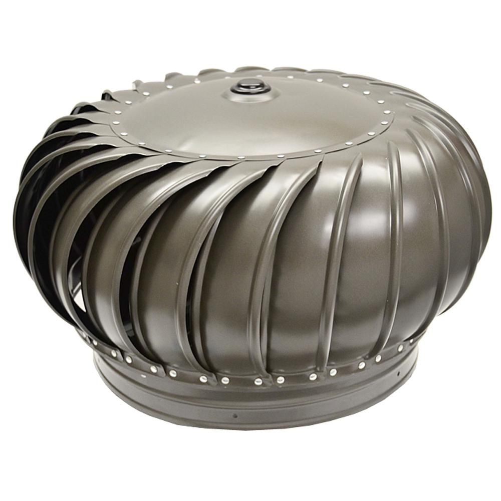 Master Flow 12 In Galvanized Internally Braced Turbine