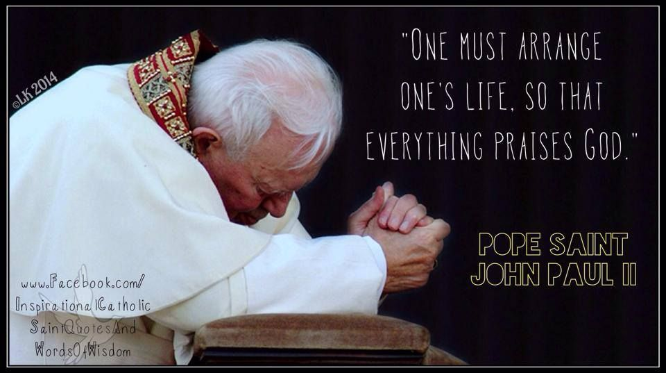 Pope John Paul Ii Quotes Youth: Pin By Sandra On Pope Saint John Paul The Second