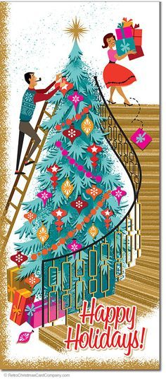 Pin by Marilyn Richesin on Mid century christmas Pinterest