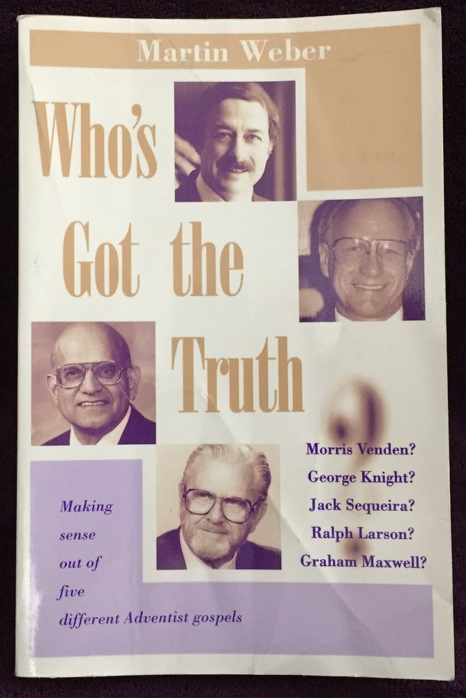 Details About Who S Got The Truth Martin Weber 1994