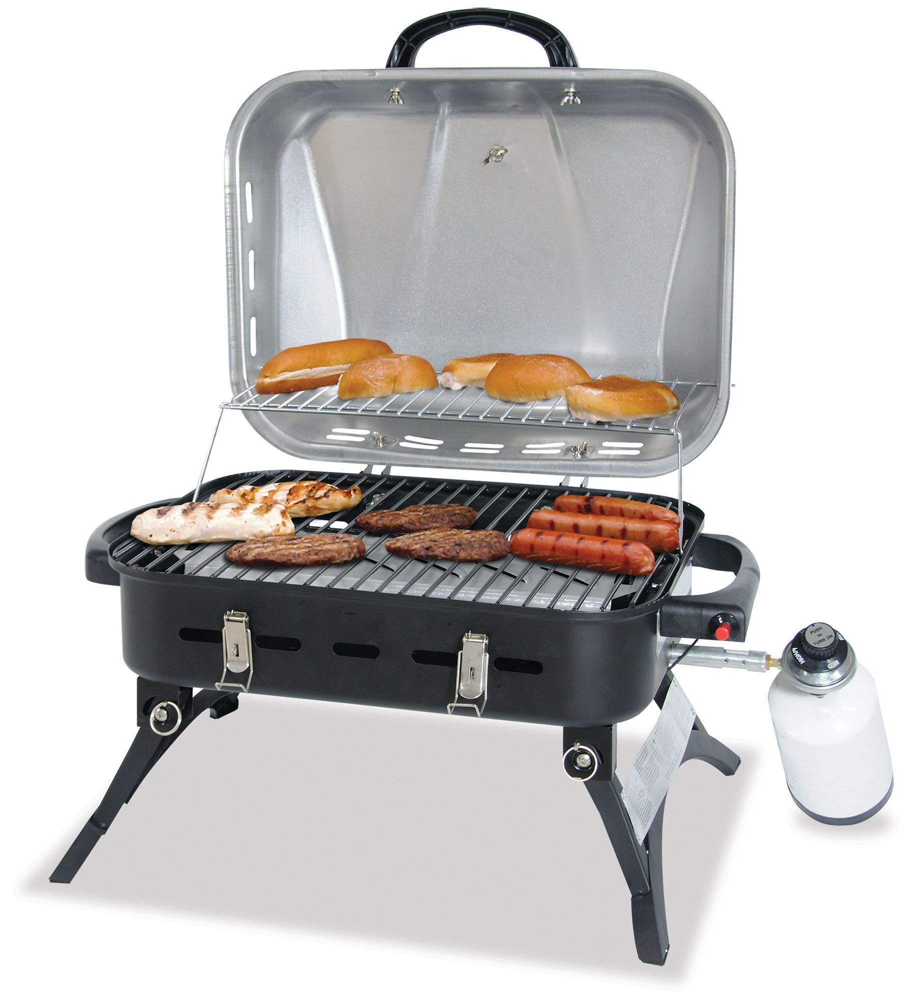 Uniflame Stainless Steel LP Gas Barbeque Grill