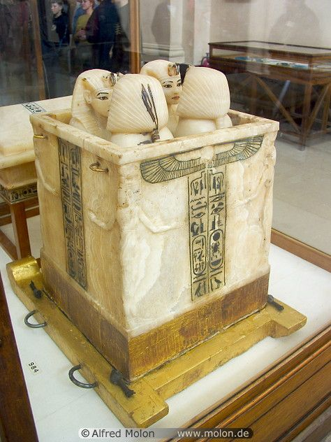 Alabaster Canopic Box Ancient Egyptian Egypt Ancient Egypt