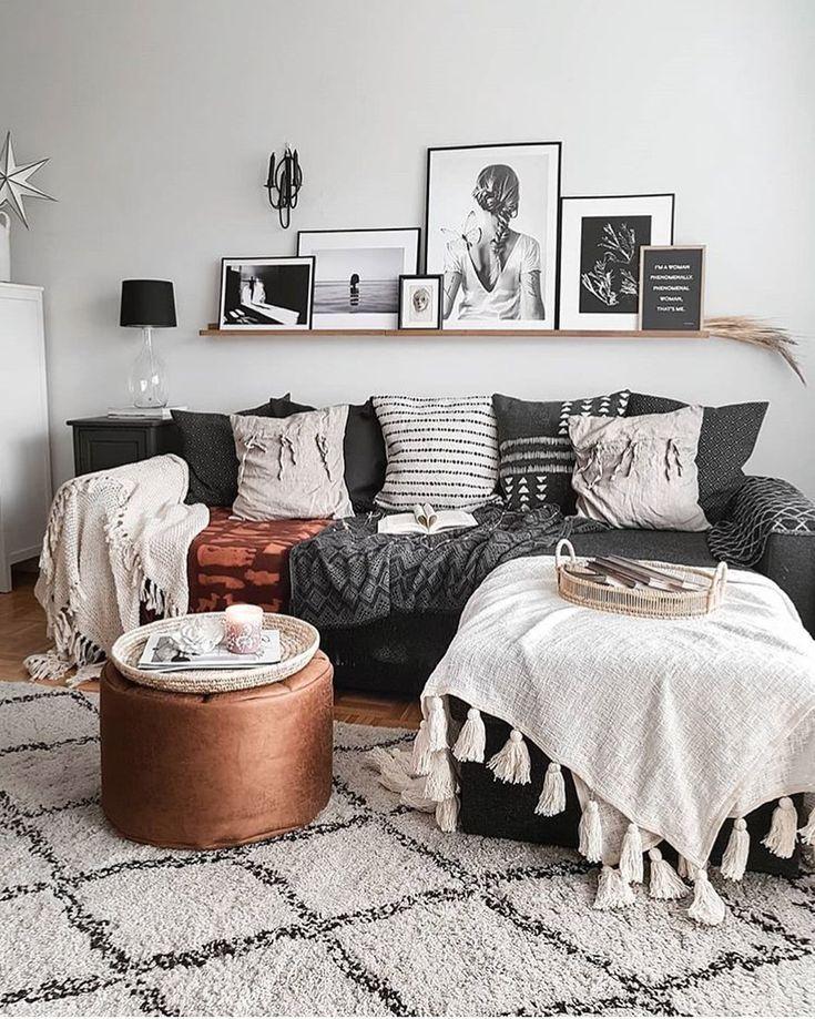 "Interior Inspiration on Instagram: ""Amazing living room ✨ Credit: @mk.nordic . . . . #livingroomgoals #livingroomdecor #livingroominspo #livingroomdesign #livingroomideas…"""