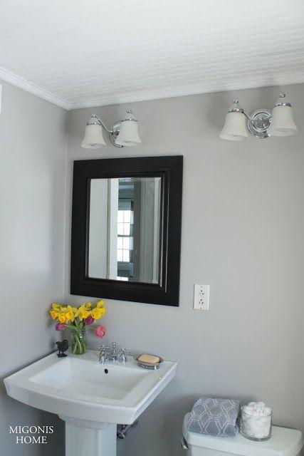 Migonis Home Bathroom Ceiling And Crown Molding Bathroom Ceiling Beadboard Bathroom Crown Molding Bathroom