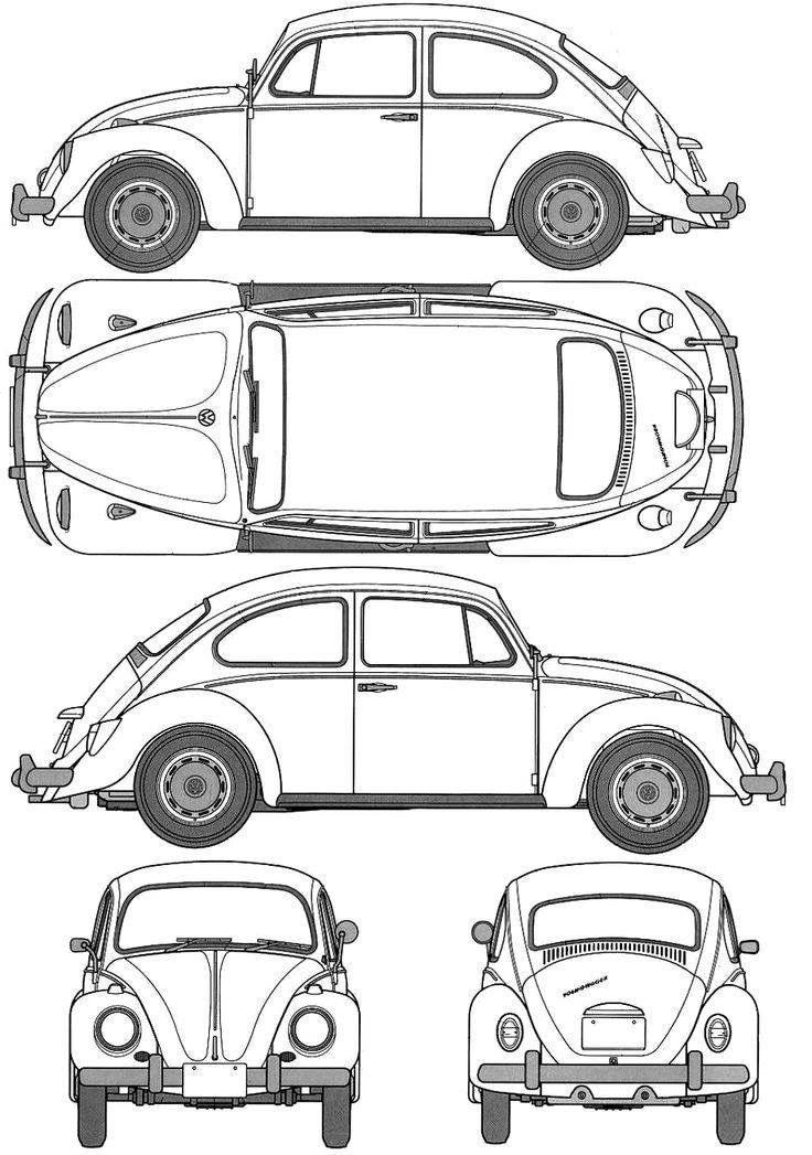 Dibujo Dibujos De Coches Autos Para Dibujar Accesorios Volkswagen