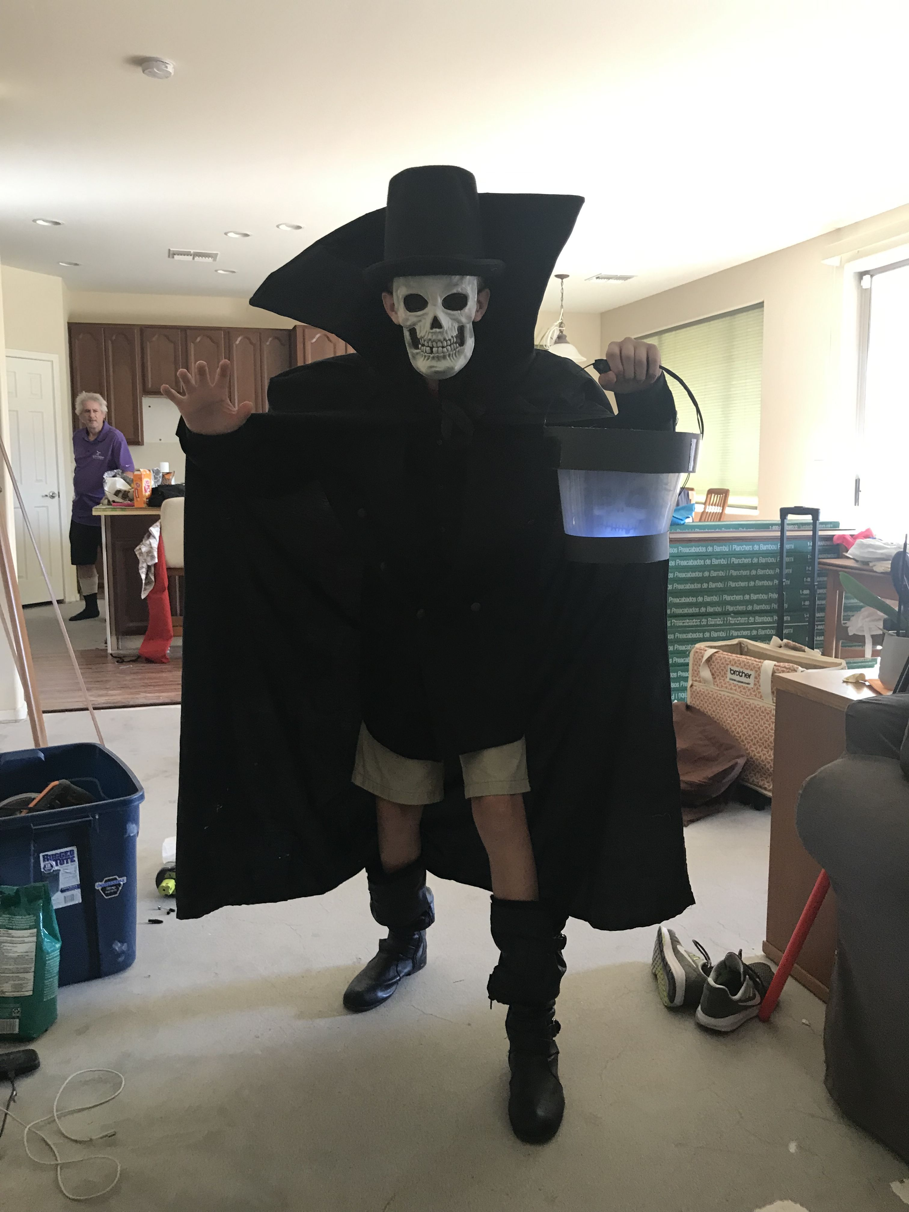 Hatbox Ghost Costume Haunted Mansion Hatbox Ghost Ghost Costume Hat Boxes