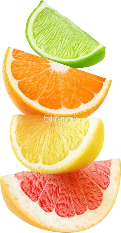 Citrus slices on top of each other Sticker