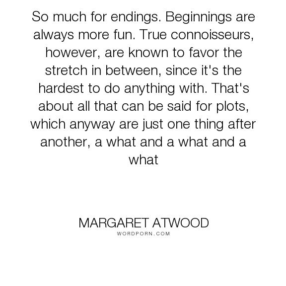 happy endings margaret atwood essay