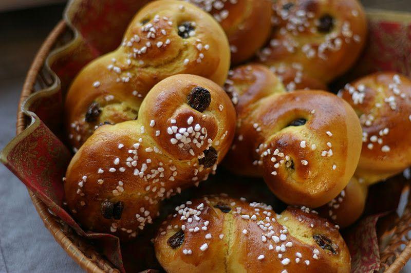 Marias Salt og Søtt: Lussekatter