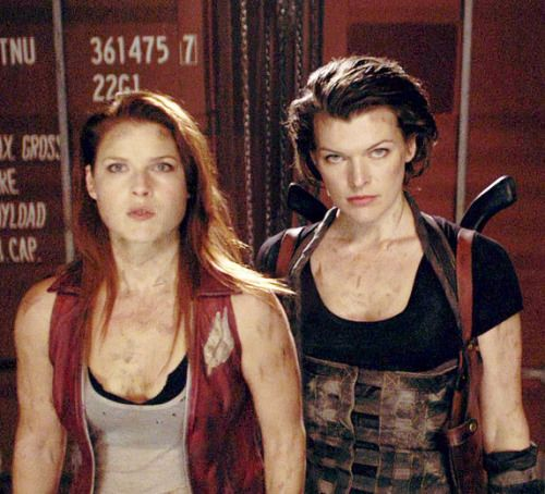 Resident Evil Claire And Alice Google Search Resident Evil