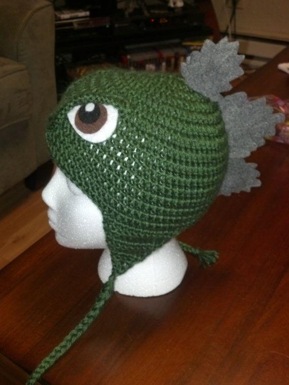 Awesome Crochet Godzilla hat PATTERN! Finally you can make it ...