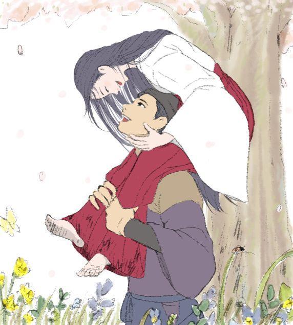 Princesse Kaguya Lilo Art Studio Ghibli Princesse