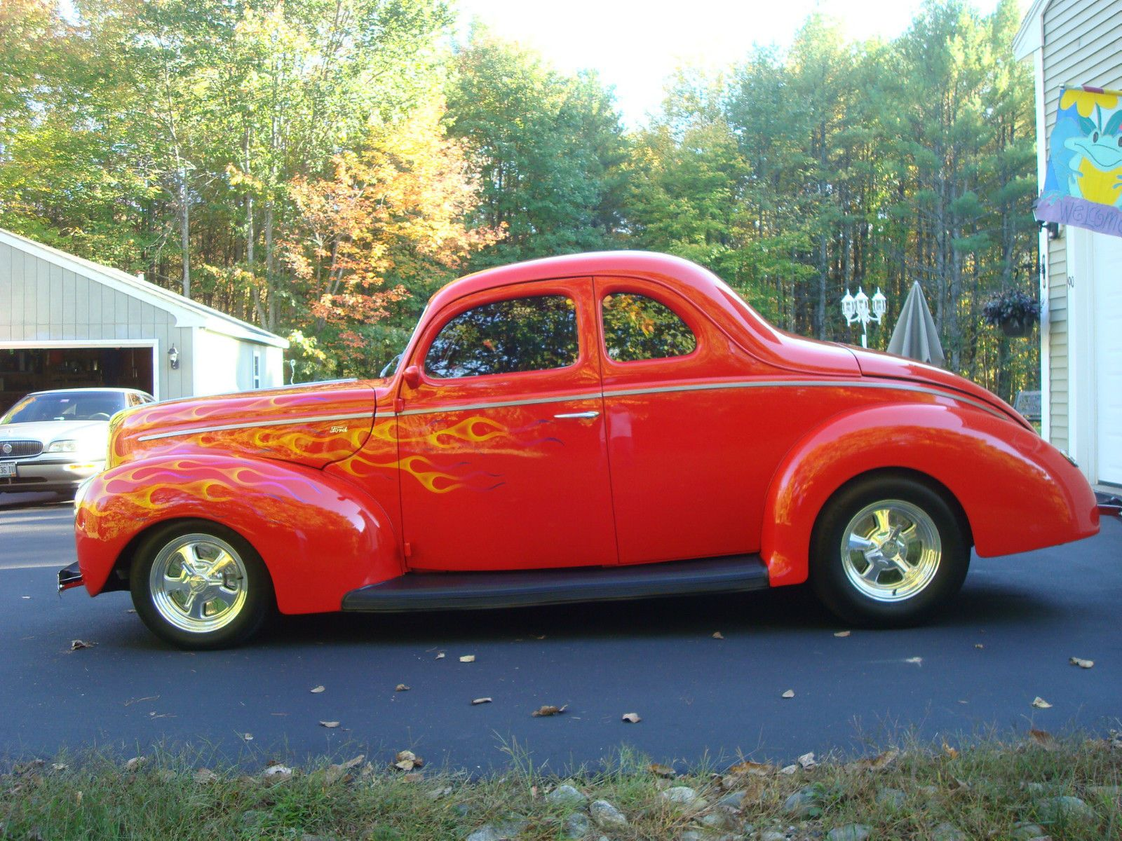 High End Build All Steel 1940 Ford Coupe Street Rod | American Hot ...