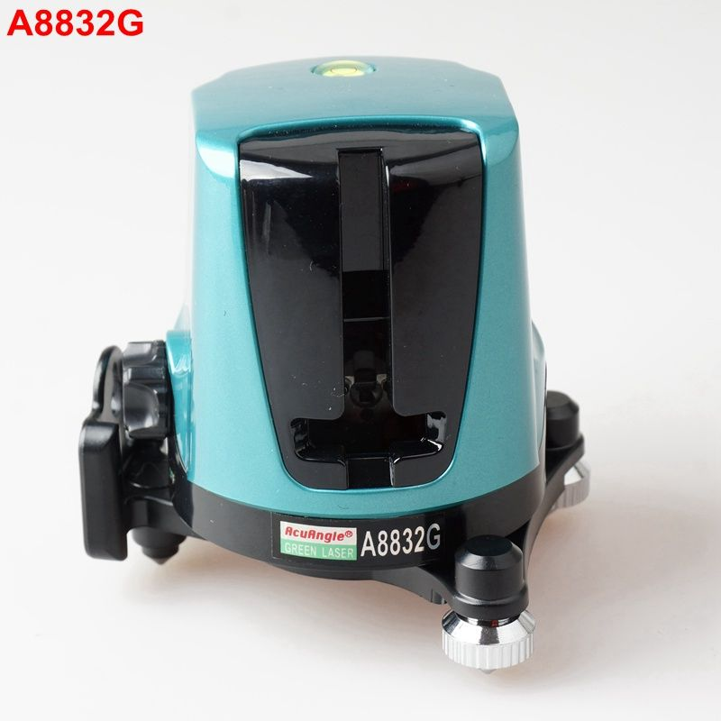 Acuangle A8832g Portable Laser Level Tape Measure 2 Green Cross Lines 360 Self Leveling Laser Levels