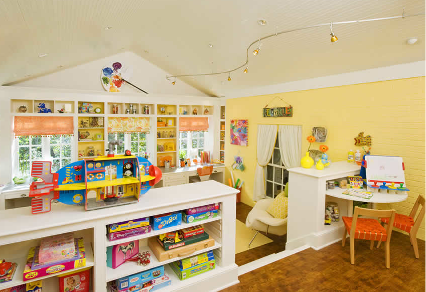 PERFECT FOR HOMESCHOOL ROOM!Design Dazzle Kids' Craft & Play Room » Design Dazzle