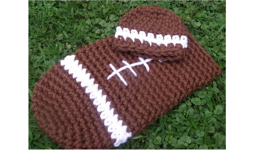 Crochet Baby Football Cocoon Pattern Thin Places Celtic