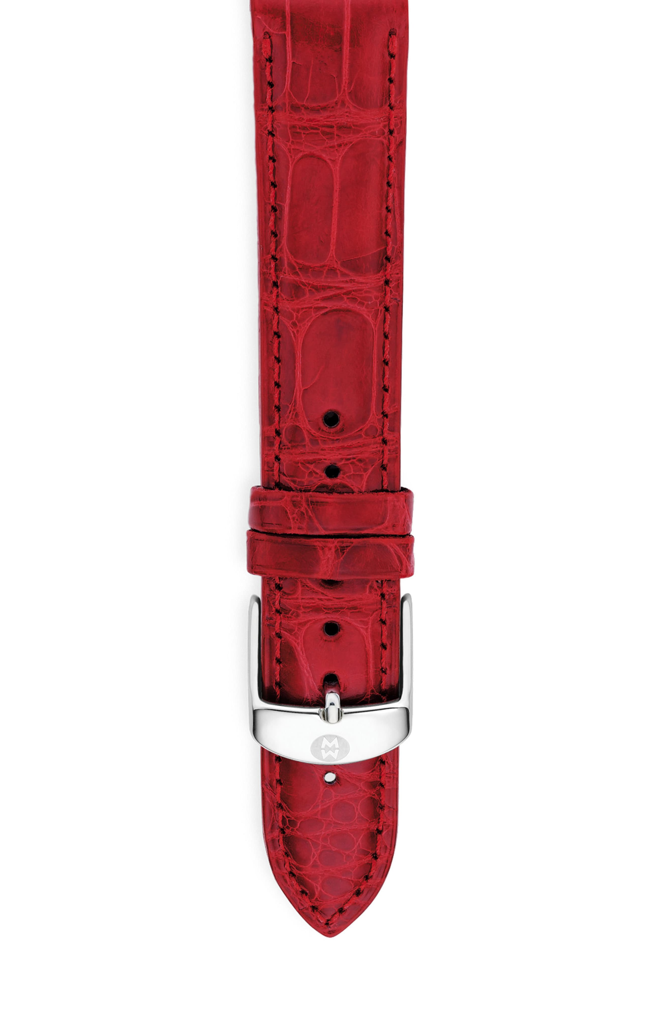 5fbc65aeb Michele 20mm Alligator Watch Strap in 2019 | Products | Watches ...