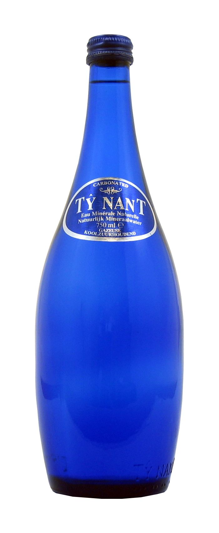 Ty Nant My Favorite Sparkling Water Bottle Blue