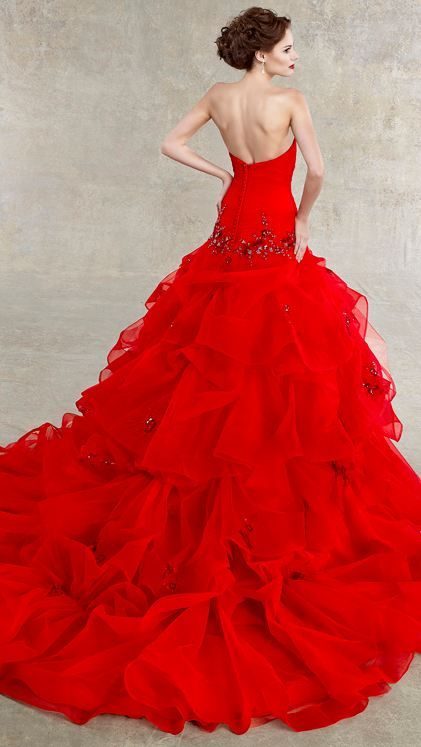 Sumptuous Red ball gown