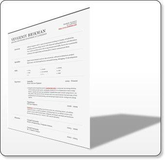 Linkedin Resume Builder - http://www.jobresume.website ...