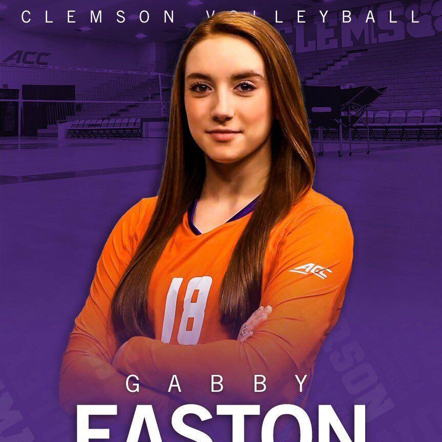 2018 Setter Gabby Easton Commits To Clemson Clemson Volleyball News Gabby