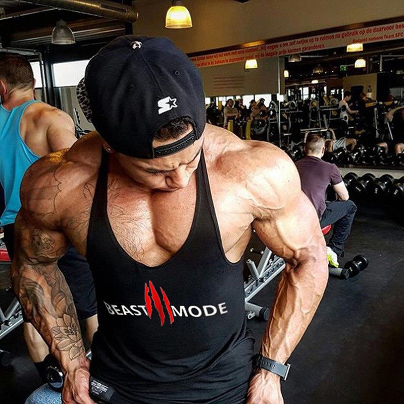 Vests Ebay Fashion Workout Tshirts Gym Men Body Building Men