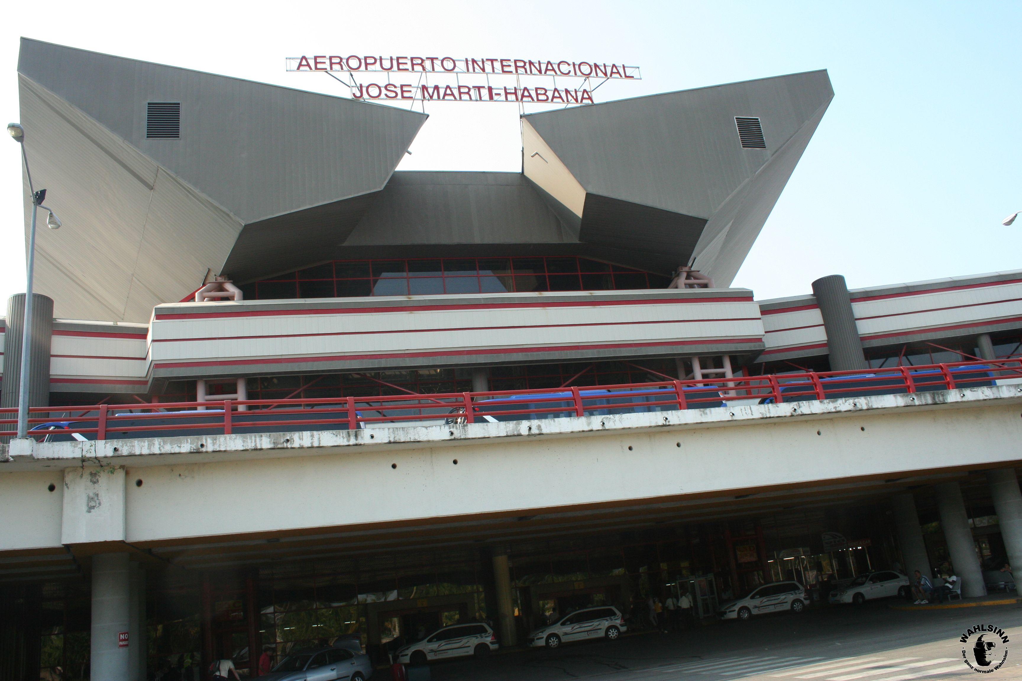 Der Internationale Flughafen von Kuba