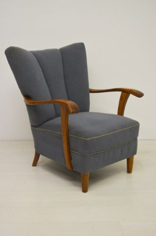 36496 blauwe 40er jaren fauteuil 195 euro  (1).jpg 195 euro, vintage